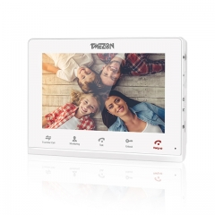 TMEZON Analog 7 Inch Touch Screen Video Monitor, compatible with IP Monitor MZ-IP-V103W