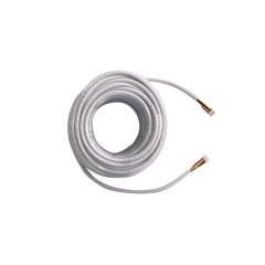 TMEZON 4 Pin Cable 15M Extension Cable, Work for Video Intercom Door Entry System