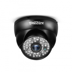 TMEZON AHD 960P Surveillance CCTV Camera,48 IR LEDS, Night Vision with IP66 Weatherproof, Security Dome Camera Outdoor Indoor, Work with AHD Recorder