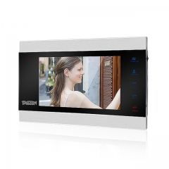 TMEZON 7 Inch Analog Indoor Monitor, Video Intercom Doorbell System, Work with MZ-IP-V739B & Outdoor Unit MZ-VDP-NE120