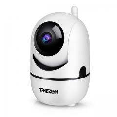 TMEZON Full HD IP 1080P IP Camera, Pan/Tilt/Zoom WIFI Security Camera, Support Remote Access, Two-way Audio, Motion Detection for Baby/Pet/Elder